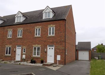 Thumbnail 4 bed end terrace house for sale in Denbigh Avenue, Worksop, Nottinghamshire