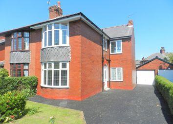 Thumbnail 3 bedroom semi-detached house for sale in Farringdon Lane, Ribbleton, Preston