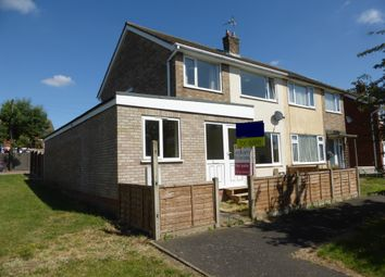 Thumbnail 4 bedroom semi-detached house for sale in Ashridge Walk, Yaxley, Peterborough
