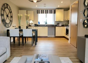 Thumbnail 2 bed flat for sale in William Morris Way, Tadpole Garden Village, Swindon