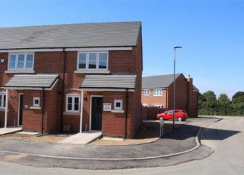 Thumbnail 2 bed end terrace house to rent in Buxton Crescent, Broughton Astley, Leicester