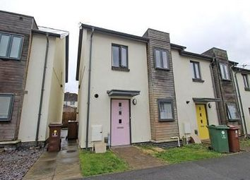 Thumbnail 2 bedroom end terrace house for sale in Squirrel Close, Plymouth
