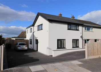 Thumbnail 3 bed semi-detached house for sale in Yewdale Road, Belle Vue, Carlisle, Cumbria