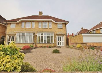 Thumbnail 3 bed semi-detached house for sale in The Old Road, Cosham, Portsmouth