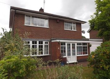 Thumbnail 3 bedroom detached house for sale in Ash Grove, Rode Heath, Stoke-On-Trent, Cheshire