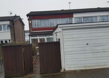 Thumbnail 3 bedroom end terrace house to rent in Larkhill Walk, Birmingham