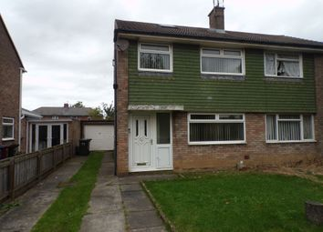 Thumbnail 3 bedroom semi-detached house for sale in Cheswick Drive, Gosforth, Newcastle Upon Tyne