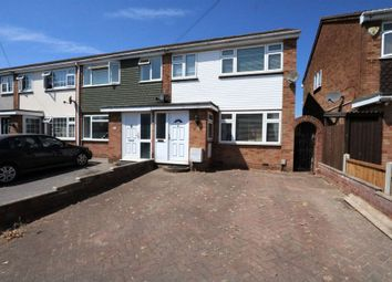 Thumbnail 3 bed end terrace house for sale in Navarre Gardens, Collier Row, Romford