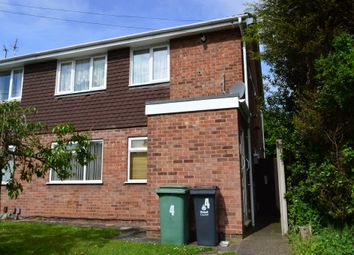 Thumbnail 2 bedroom flat for sale in Brunslow Close, Willenhall