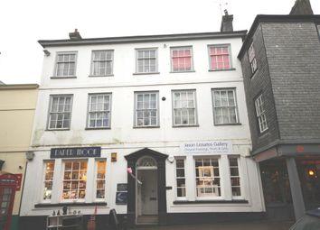 Thumbnail 1 bedroom flat to rent in High Street, Totnes