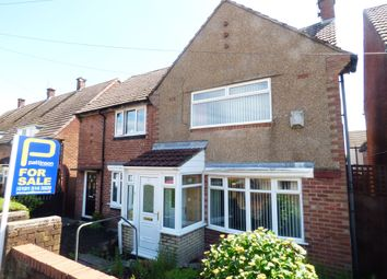 Thumbnail 2 bedroom semi-detached house for sale in Clovelly Road, Sunderland