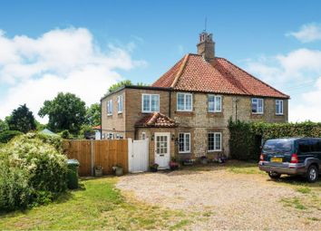 Thumbnail 4 bed semi-detached house for sale in Methwold Road, Whittington, King's Lynn