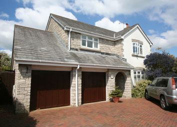 Thumbnail 4 bed detached house for sale in Heol Pentre'r Felin, Llantwit Major