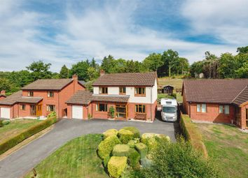 Thumbnail 4 bedroom detached house for sale in Woodlands, Cefnllys Lane, Llandrindod Wells