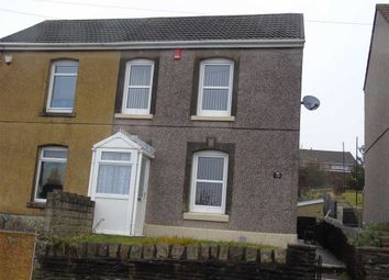 Thumbnail 2 bed semi-detached house for sale in Cefn Road, Bonymaen, Swansea