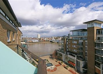Thumbnail 2 bedroom flat for sale in Compass House, Riverside West, Smugglers Way, London