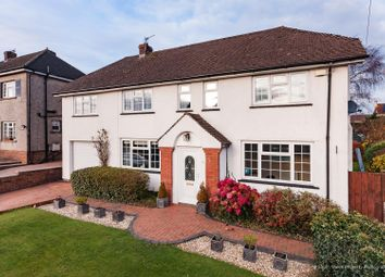 Thumbnail 4 bed detached house for sale in Llantrisant Road, Groesfaen, Pontyclun