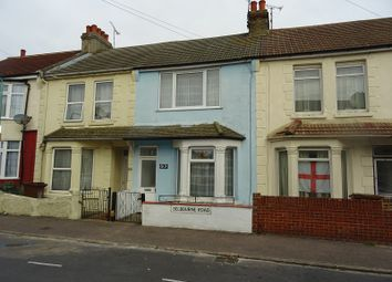 Thumbnail 3 bed terraced house for sale in Selbourne Road, Gillingham, Kent.