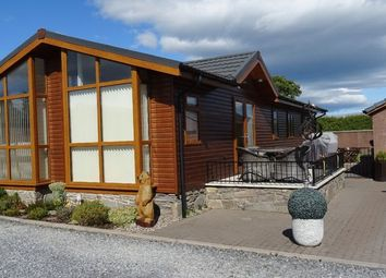 Thumbnail 3 bed lodge for sale in Forfar