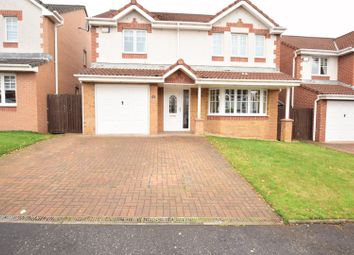 Thumbnail 4 bed detached house for sale in Dundrennan Drive, Airdrie