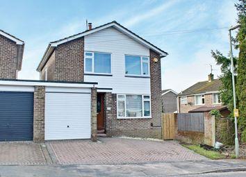 Thumbnail 3 bed detached house for sale in Restormel Close, Basingstoke