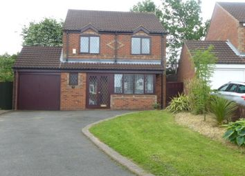 Thumbnail 3 bed detached house to rent in Oak Close, Castle Gresley, Swadlincote