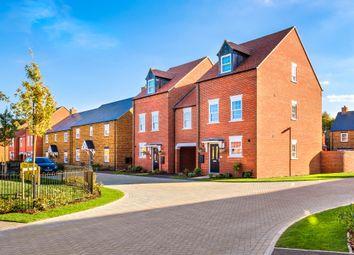 "Thumbnail 4 bed semi-detached house for sale in ""Clifton"" at Flux Drive, Deddington, Banbury"