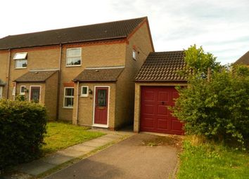 Thumbnail 2 bed end terrace house to rent in Deep Spinney, Biddenham, Bedford, Beds