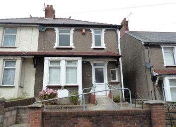 Thumbnail 3 bedroom semi-detached house for sale in Barry Road, Barry