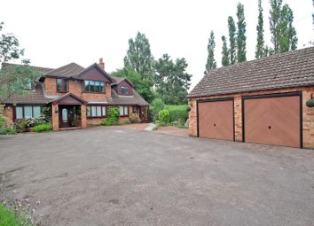 Thumbnail 5 bed detached house for sale in Spring Lane, Lambley, Nottingham