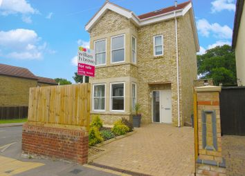 Thumbnail 4 bedroom detached house for sale in Manor Road, Gidea Park, Romford