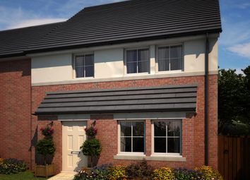 "Thumbnail 4 bed semi-detached house for sale in ""Binchester"" at Whitworth Park Drive, Houghton Le Spring"