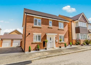 Thumbnail 4 bed detached house for sale in Pennine Close, Corby