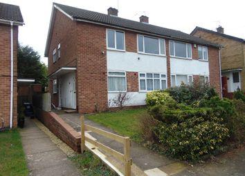 Thumbnail 2 bed maisonette to rent in Burnside Way, Longbridge, Northfield, Birmingham
