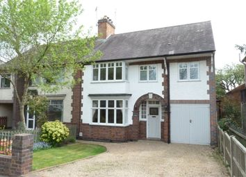 Thumbnail 4 bed semi-detached house for sale in Westfield Avenue, Countesthorpe, Leicester