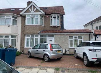 Thumbnail 3 bed flat to rent in Malvern Gardens, Kenton, Harrow