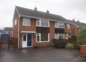Thumbnail 3 bed semi-detached house for sale in Parkway, Forsbrook, Stoke-On-Trent