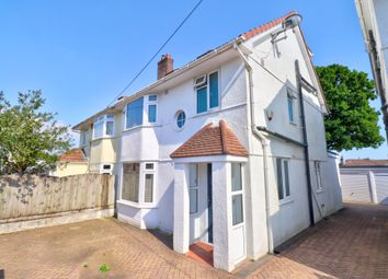 Thumbnail 4 bed semi-detached house for sale in Westwood Avenue, Plymouth