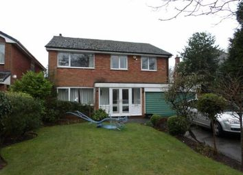 Thumbnail 4 bed detached house for sale in Dingle Lane, Solihull, West Midlands