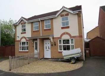 Thumbnail 3 bed semi-detached house for sale in Celandine Drive, Melton Mowbray
