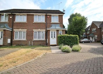 Thumbnail 3 bed semi-detached house for sale in Powys Court, Borehamwood