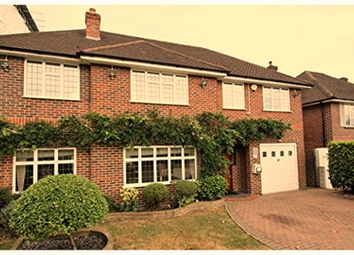 Thumbnail 5 bed detached house for sale in Highfield Drive, Uxbridge