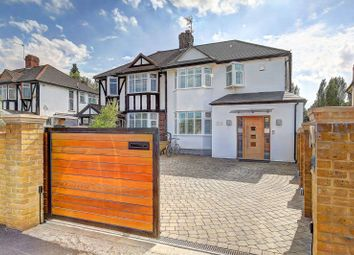 Thumbnail 4 bedroom semi-detached house for sale in Beverley Way, Raynes Park