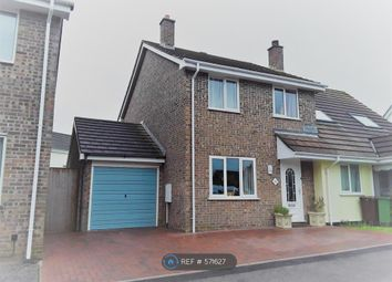 Thumbnail 3 bed semi-detached house to rent in Polmennor Road, Falmouth