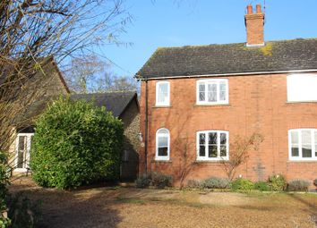 Thumbnail 2 bed semi-detached house for sale in North Street, Castlethorpe, Milton Keynes