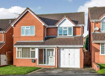 Thumbnail 4 bed detached house to rent in Stubbs Drive, Stone