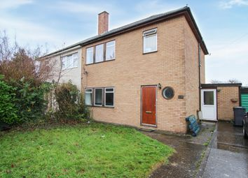Thumbnail 4 bed semi-detached house for sale in Wulfstan Way, Cambridge