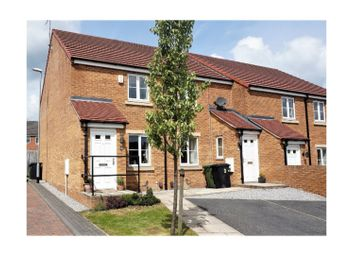 Thumbnail 2 bedroom end terrace house for sale in St. Benedict Mews, Swarcliffe