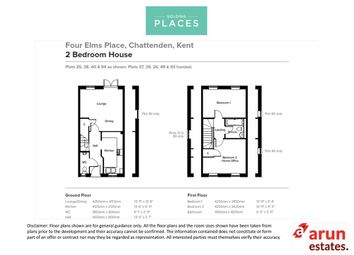 Thumbnail 2 bed terraced house for sale in Four Elms Place, Chattenden, Rochester, Kent