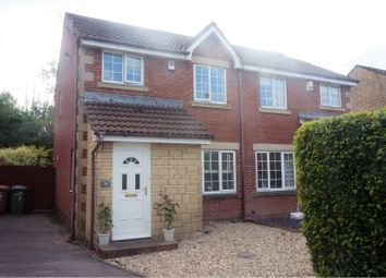 Thumbnail 3 bed semi-detached house for sale in Cwrt Nant Y Felin, Castle View
